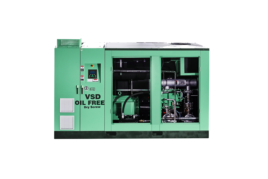 DS SERIES DRY OIL FREE SCREW AIR COMPRESSOR